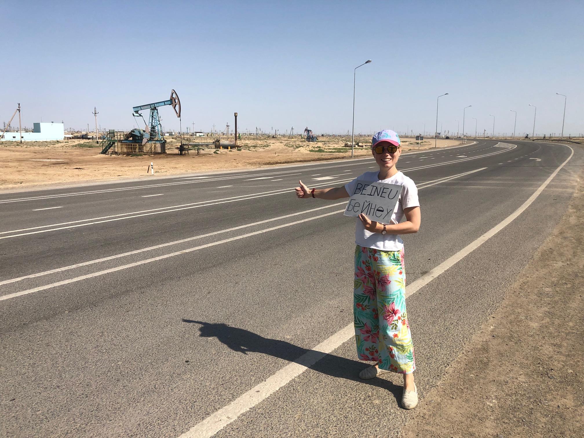 Autostop Kazachstan