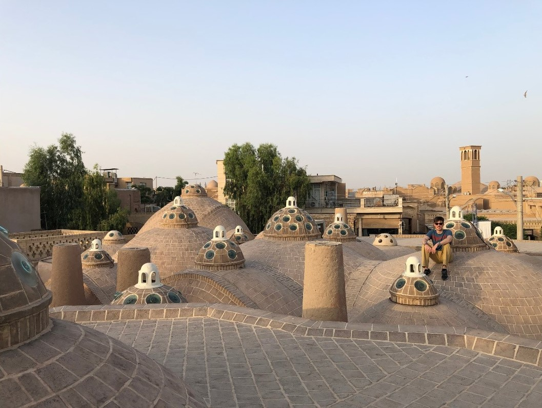 Star Wars like buildings in Kashan