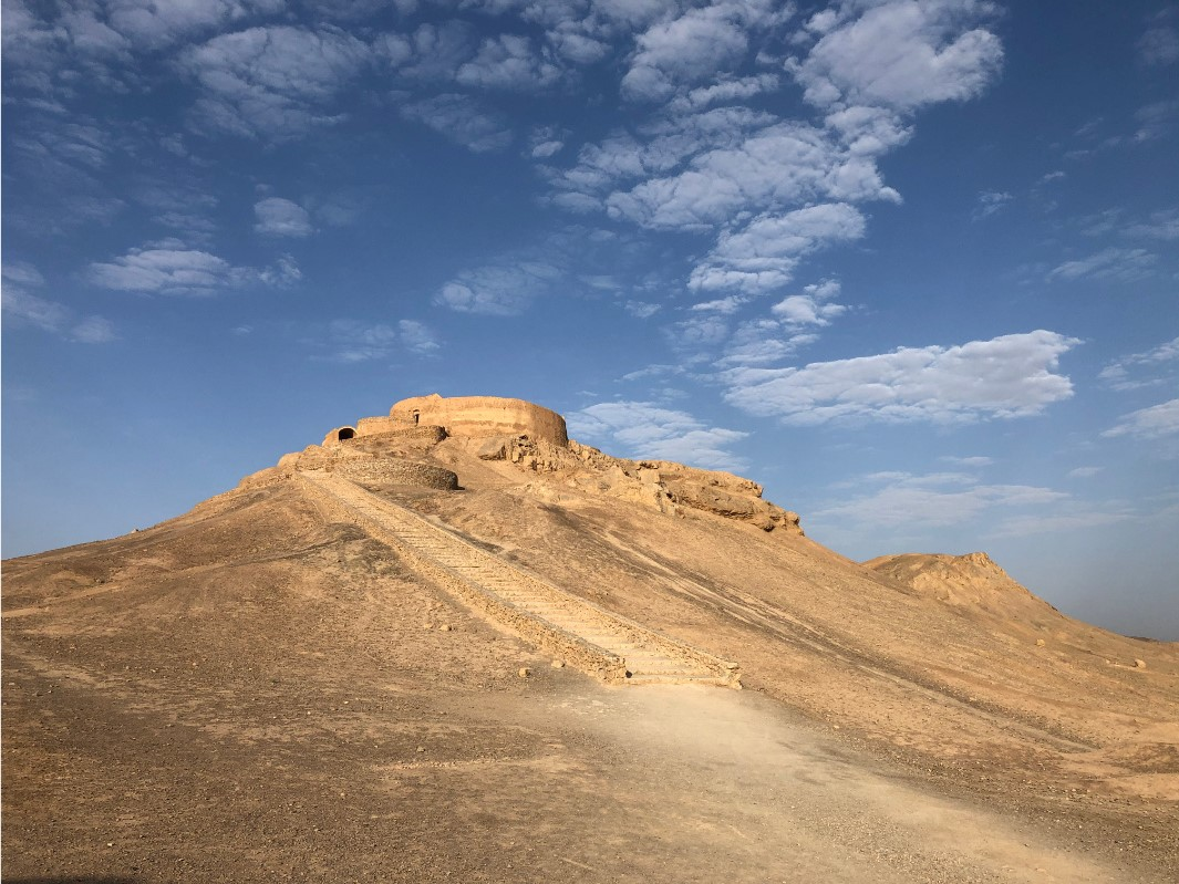Tower of silence in Yazd